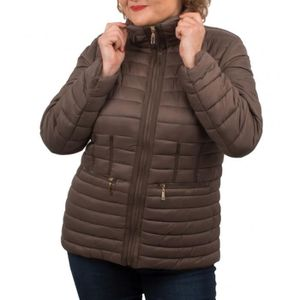 DOUDOUNE Doudoune Grande Taille femme cintrée avec capuche