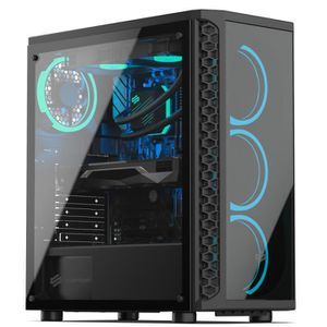 UNITÉ CENTRALE  PC Gamer, Intel i7, RTX 2080, 500 Go SSD, 3 To HDD
