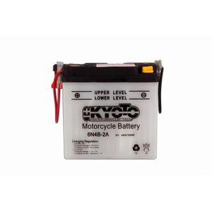 BATTERIE VÉHICULE KYOTO - Batterie moto - 6n4b-2a - L 100mm W47mm H