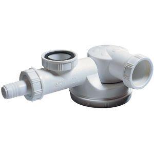 SIPHON DE LAVABO Siphon d'évier avec prise M.A.L. - 1'1/2 - Ø 40 mm