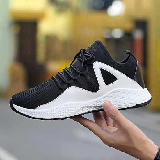 Chaussure homme mixte AIR- chaussures de sport Blanc Blanc - Achat / Vente basket