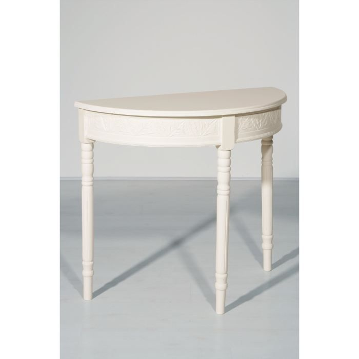 Table Console Extensible Table Lune Demi Console WEH2Ie9YD