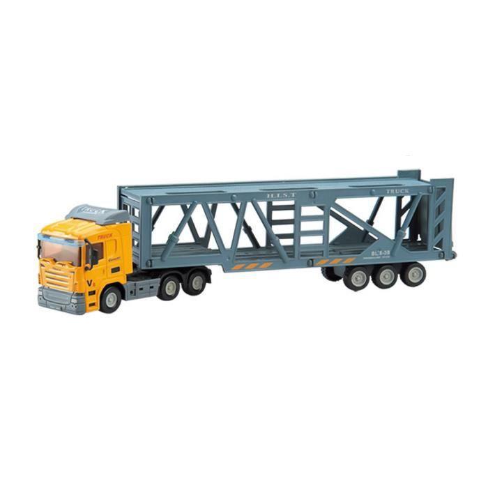 Camion En Jouet Enfants Plastique Modèle Cadeau Transport Mode Voiture De nmN8v0w