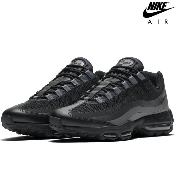 new product 9714e c75f2 Nike Air Max 95 ULTRA Essential- 857910-001 gris / noir / anthracite ...