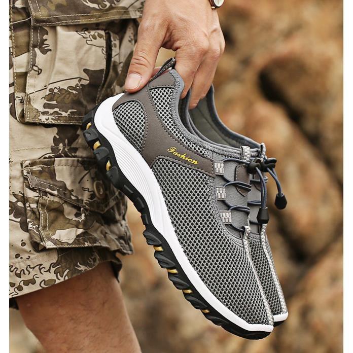 Chaussures Homme Marche Randonnée Marche Respirant Quotidien Sport