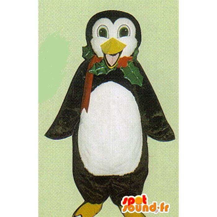 Mascotte SpotSound Cdiscount - Taille L - personnalisable de pingouin noir  et blanc 73e2718c6f8