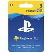 CARTE MULTIMEDIA Abonnement Playstation Plus 3 Mois
