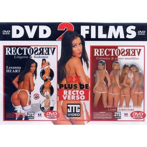 DVD X RECTO VERSO LINGERIE & SODOMIE + RECTO VERSO CULOT