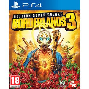 JEU PS4 Borderlands 3 Super Deluxe Jeu PS4