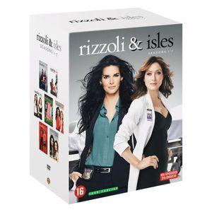 DVD SÉRIE Coffret DVD Rizzoli & Isles, saisons 1 à 7, 105 ép