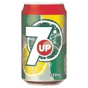 Soda - Thé glacé 7up - 7up Citron et Citron Vert 33cl (pack de 24)