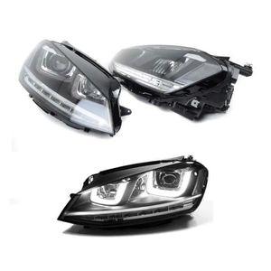 PHARES - OPTIQUES 2 FEUX PHARE AVANT LED VW GOLF 7 AVEC CLIGNOTANTS