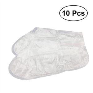 SOIN MAINS ET PIEDS 10 Sacs de pied Peeling Masque Pied cals et mort R