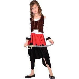DÉGUISEMENT - PANOPLIE Déguisement fille Pirate taille 4/6 ans