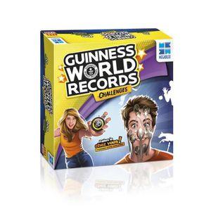 JEU SOCIÉTÉ - PLATEAU MEGABLEU – Guinness World Record Challenges