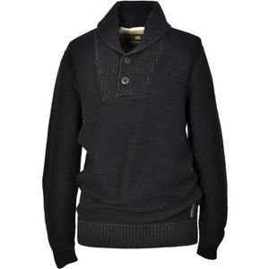 PULL NO EXCESS: Pull homme manches longues col tunisien