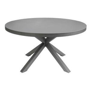 Table de jardin ronde 6 personnes - Achat / Vente pas cher - Cdiscount