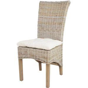 CHAISE Chaise En Rotin Tress TAO