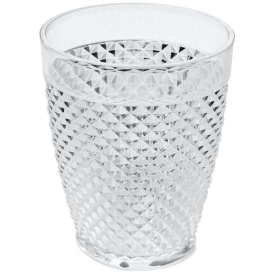 3f4181be93 Gobelet Verre Design Baroque Chic Style Luxe et Rétro Blanc. - Achat /  Vente verre à eau - soda - Soldes d'été Cdiscount