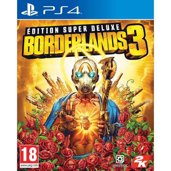 Borderlands 3 Super Deluxe Jeu PS4
