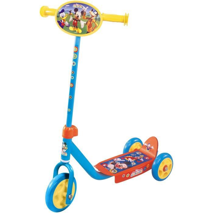 Trottinette Mickey Mouse 3 roues