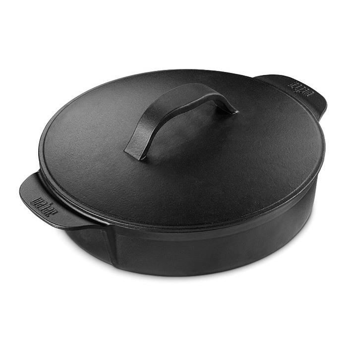 WEBER Cocotte pour Gourmet BBQ System - Fonte d'acier