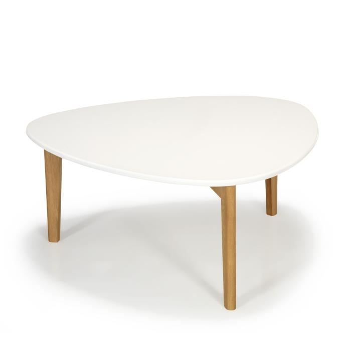Vintage Scandinave Table Blanche Siwa Vente Achat Basse 80cm DY9IWeE2H