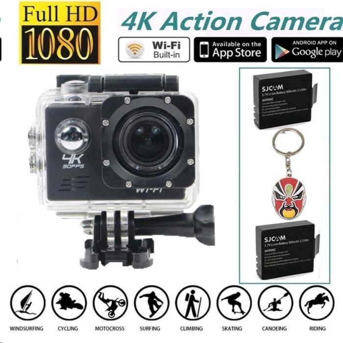 CAMÉSCOPE NUMÉRIQUE Boblov SJ8000 WiFi Caméra Action Sports Imperméabl