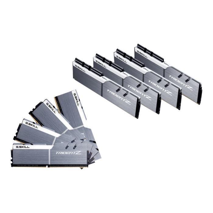 MÉMOIRE RAM G.Skill TridentZ Series DDR4 128 Go: 8 x 16 Go DIM