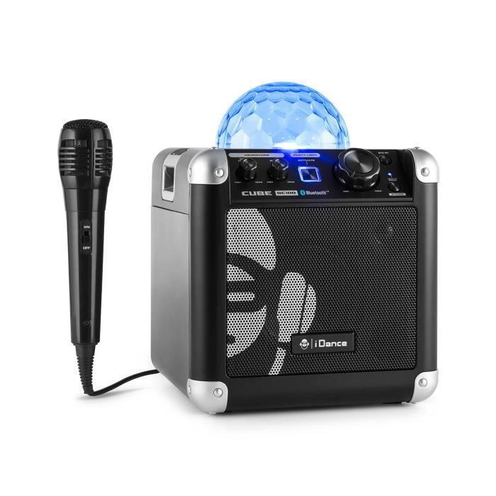 Idance Party Cube Bc100 Syst 232 Me Audio Bluetooth Effets Led