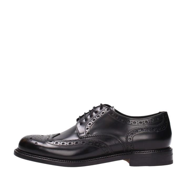 Berwick 1707 Lace Shoes Homme Black