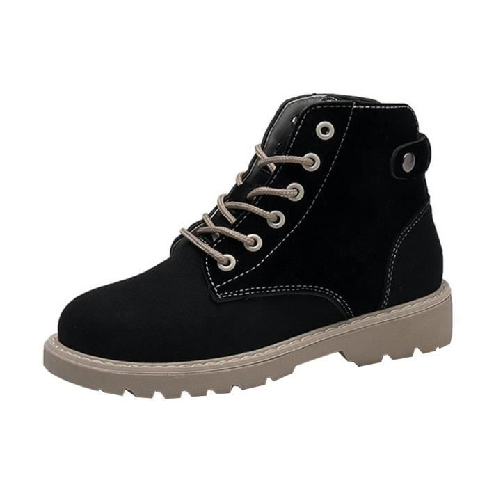 Head Lacets Femmes Chaussures Martin Ronde Bottes 9820 Loisir Mode rqaxOr