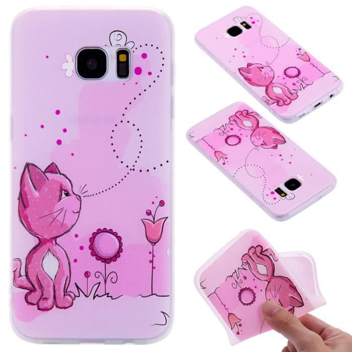 coque samsung s7 silicone chat