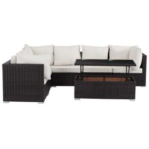 Canape modulable resine tressee - Achat / Vente Canape modulable ...