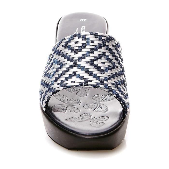 VIVI - Nu pieds - bleu