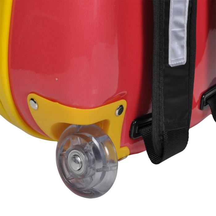 32 Worm Cherry Knorrtoys Kirschrot Cm Rouge V7u5q 32cm Trolley Rolly 14522 Valise IzqwzxY