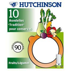 HUTCHINSON Sachet de 10 rondelles universelles dim.90X68X2,5