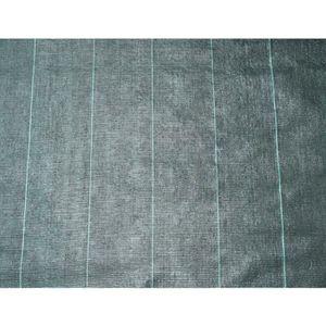 NATURE Toile de paillage paysages - PP tissé noir 5,2 X 5m