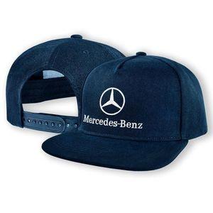 CASQUETTE Mercedes Benz Casquette de Baseball Snapback Bleu