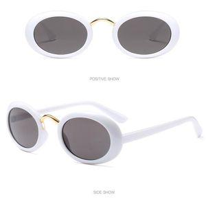 c63cee2df5 LUNETTES DE SOLEIL Femmes Vintage Ovale Forme Lunettes soleil rétro L ...