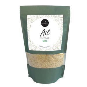 EPICE - HERBE Ail Bio - Semoule - Sac de Kraft de 400 gr - Aroma