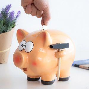 TIRELIRE Tirelire Petit Cochon Géant avec Marteau