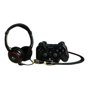 CASQUE AVEC MICROPHONE 4GAMERS Kit Micro-casque PS3