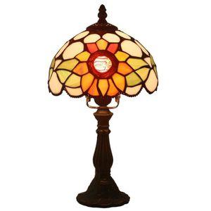 LAMPE A POSER FABAKIRA Lampe de chevet 8 pouces Vintage Pastoral