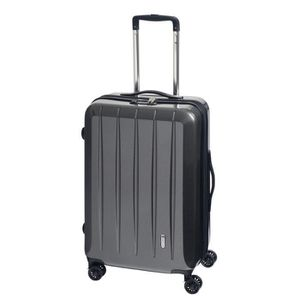 VALISE - BAGAGE Check.IN Trolley L 67cm London 2.0 Carbon Schwarz