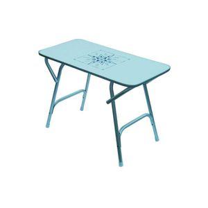 Petite table de jardin plastique - Achat / Vente Petite table de ...