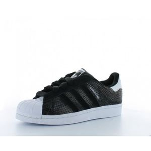 Adidas superstar b35797 noir basket noir serpent