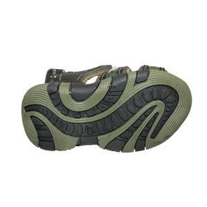 SANDALE - NU-PIEDS sandales nu pieds garçon noire et kaki