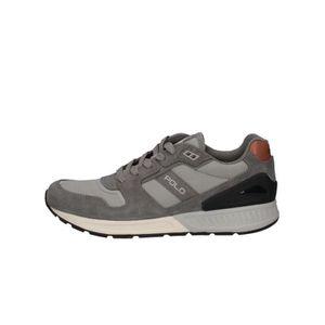 Polo Ralph Lauren Thurlos Sneaker KZ5EY Taille-43 Noir Noir - Achat / Vente basket  - Soldes* dès le 27 juin ! Cdiscount