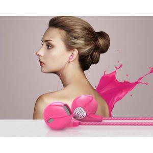 CASQUE - ÉCOUTEURS Ecouteurs pour HTC Desire 530 avec Micro Réglage K
